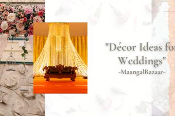 Innovative Decor Ideas for Weddings