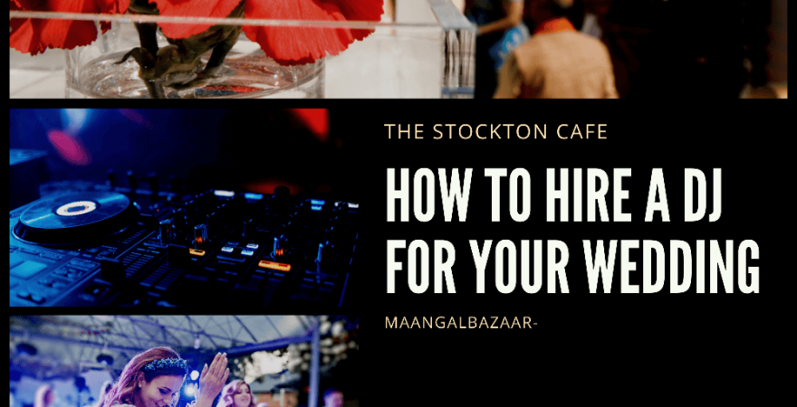 How to hire DJ for your wedding
