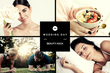 How to get the best glow on your Wedding Day